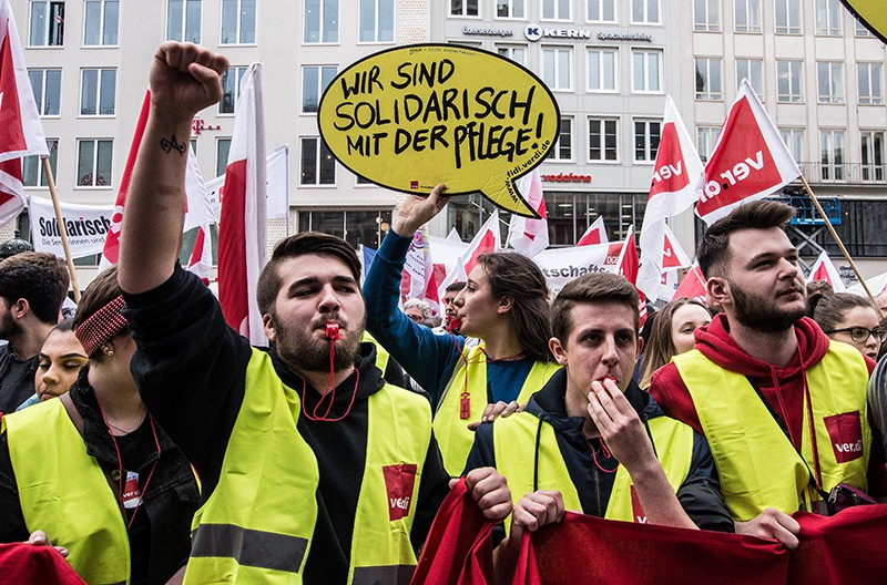 Забастовка в Европе