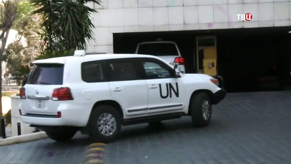 Автомобили ООН в Сирии
