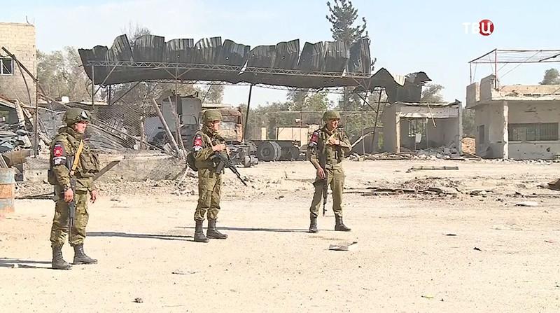 Военные в Сирии
