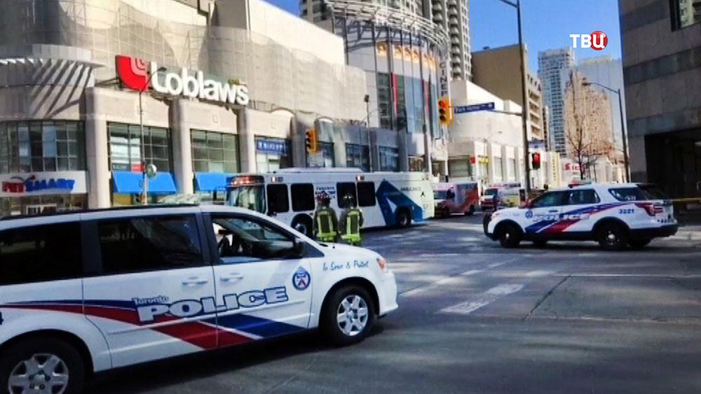 Полиция Канады в Торонто