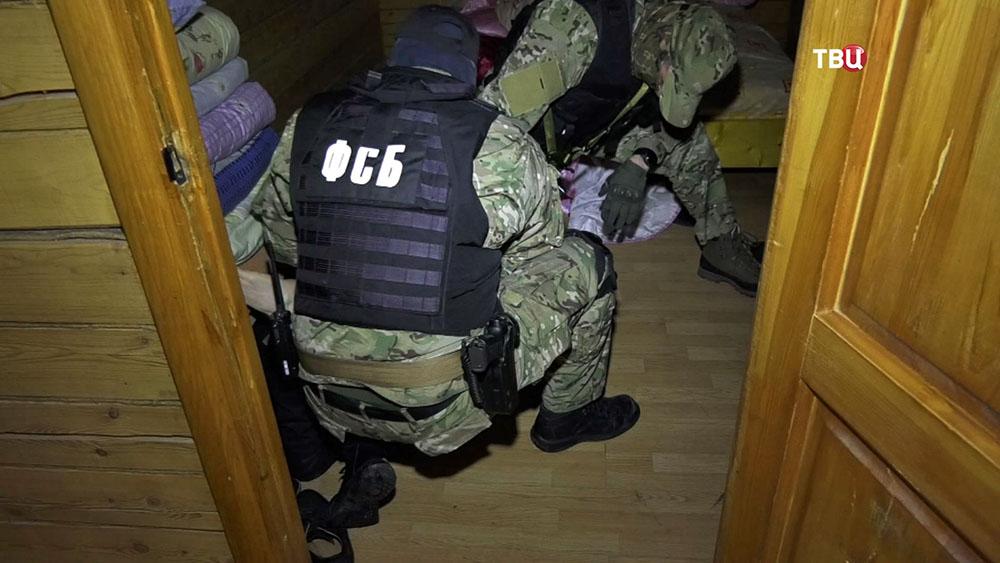Спецоперация ФСБ по задержанию членов террористической организации