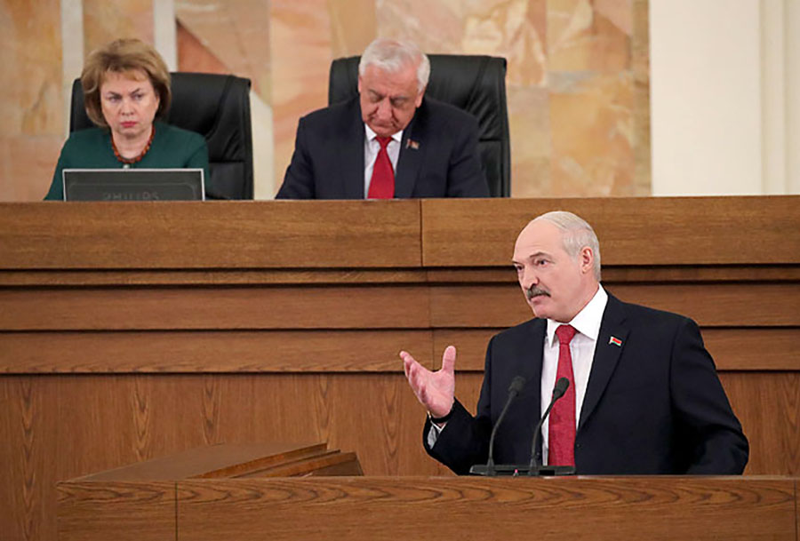 Президент Белоуссии Александр Лукашенко