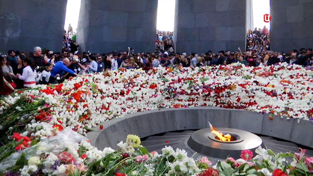 Монумент в память о жертвах геноцида армян
