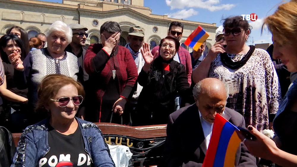 Жители Армении
