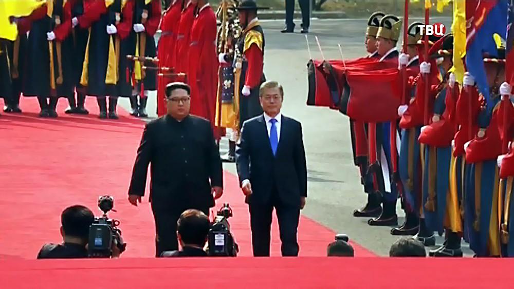 Визит Ким Чен Ына в Южную Корею