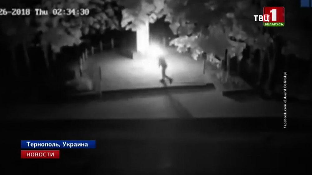 На Украине осквернили памятник жертвам Холокоста