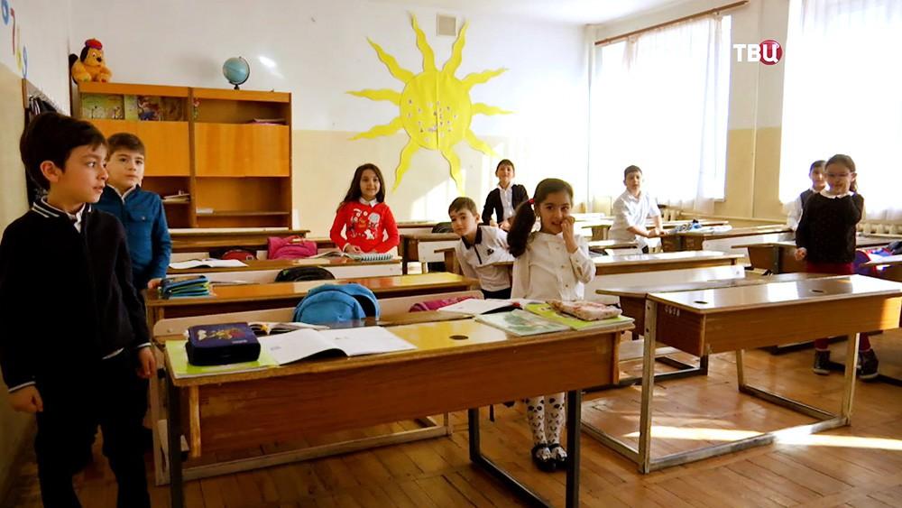 Школьники в Армении