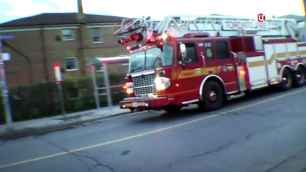 Пожарные Канады