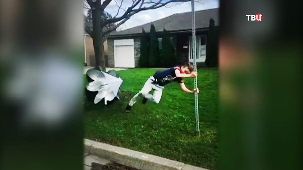 Ураган в Канаде