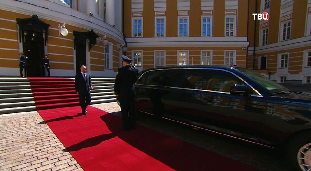 Инаугурация избранного президента России Владимира Путина