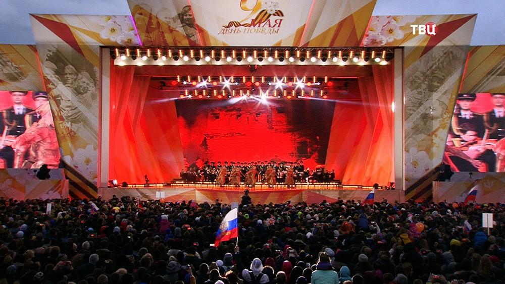 Праздничный концерт на Поклонной горе