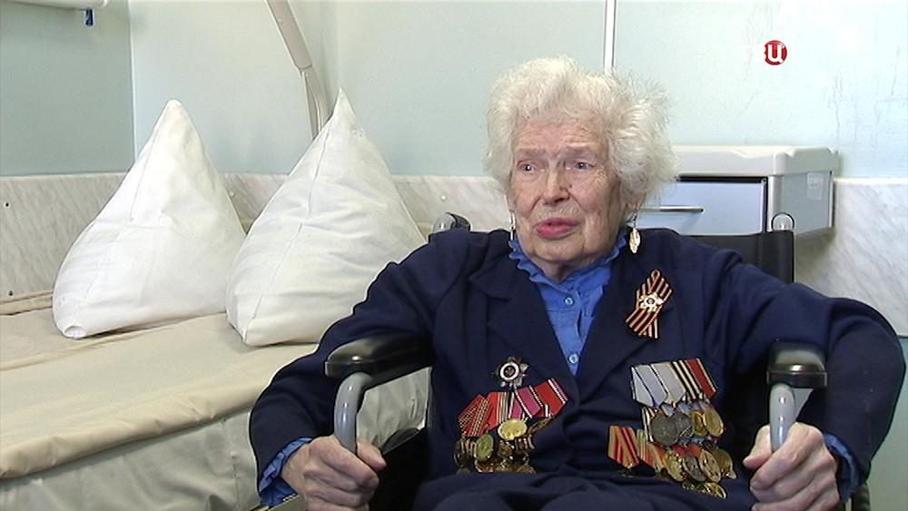 Ветеран ВОВ Мария Ивановна Савельева