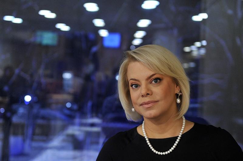 Телеведущая, актриса Яна Поплавская