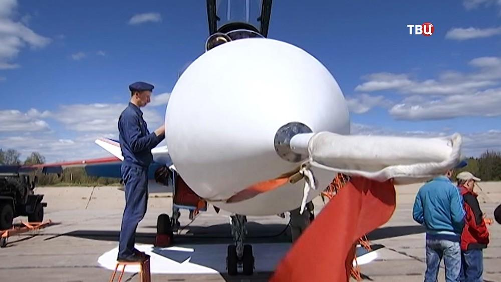 Подготовка истребителя