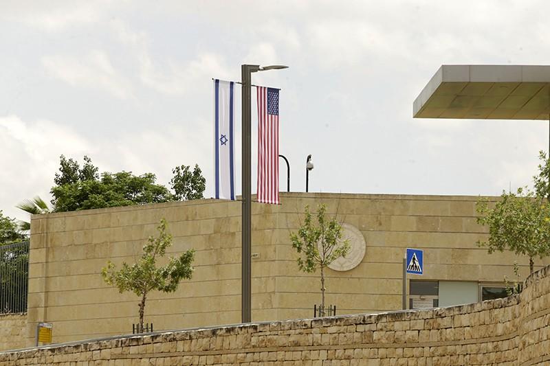 Здание консульства США в Иерусалиме