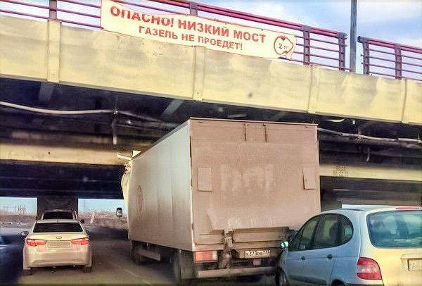 """Софийский мост, он же """"мост глупости"""" в Санкт-Петербурге"""