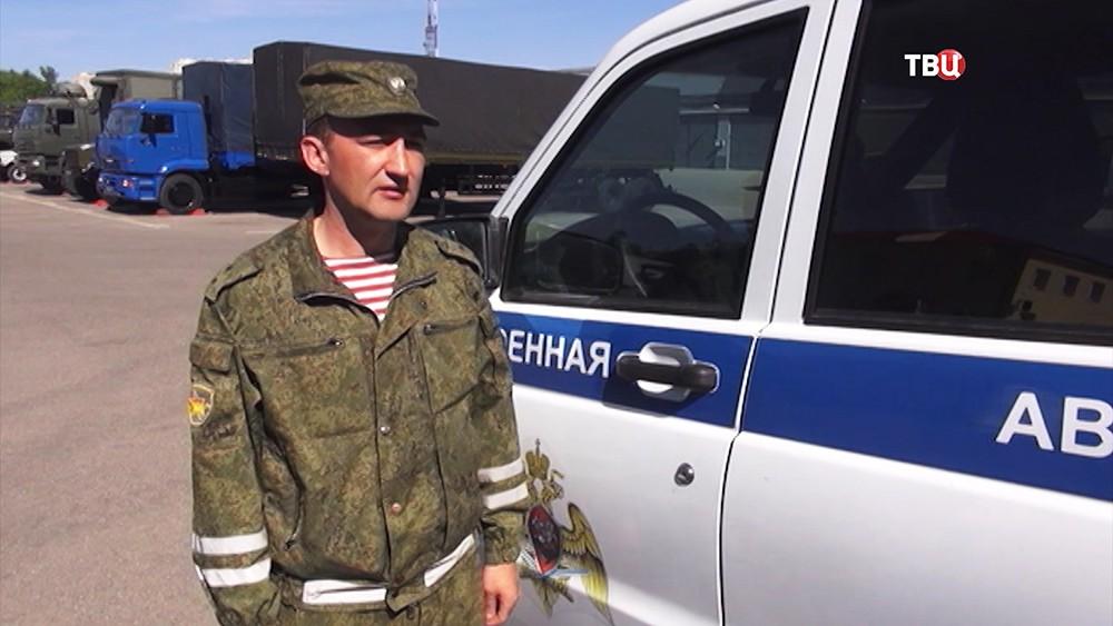 Сотрудник Росгвардии Ильдар Бахтияров