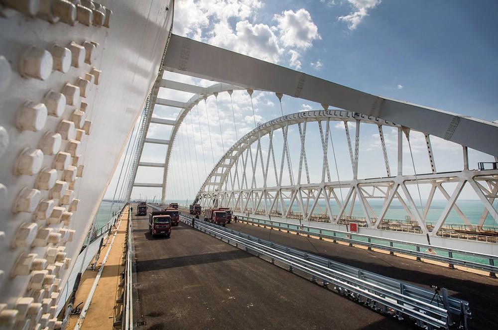 Строительство Крымского моста