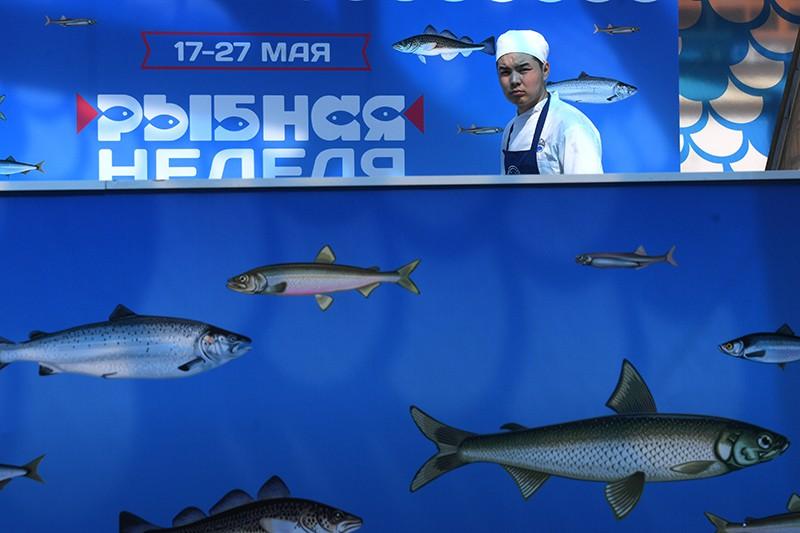 """Фестиваль """"Рыбная неделя"""" в Москве"""