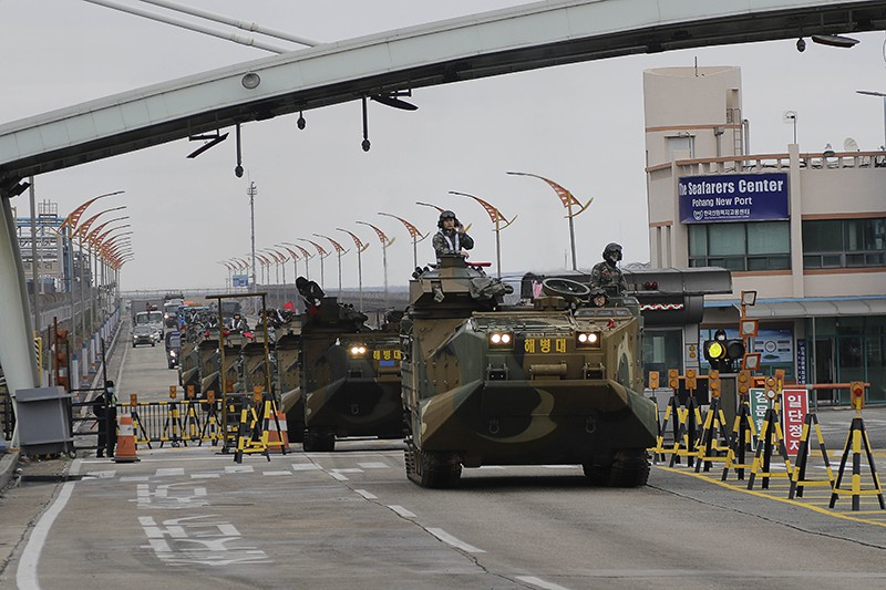 Военные учения Южной Кореи