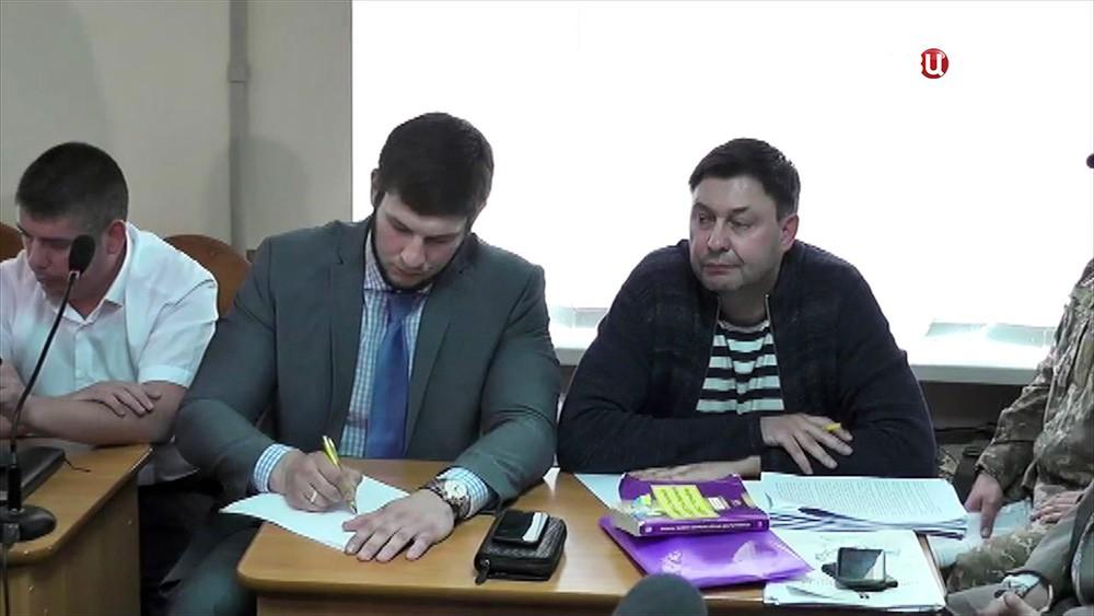 """Главный редактор сайта """"РИА Новости Украина"""" Кирилл Вышинский в суде"""