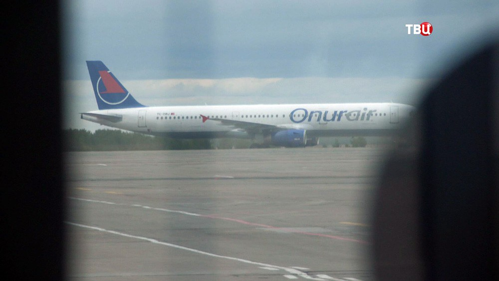 Самолет авиакомпании Onur air