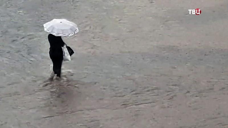 Последствия дождя