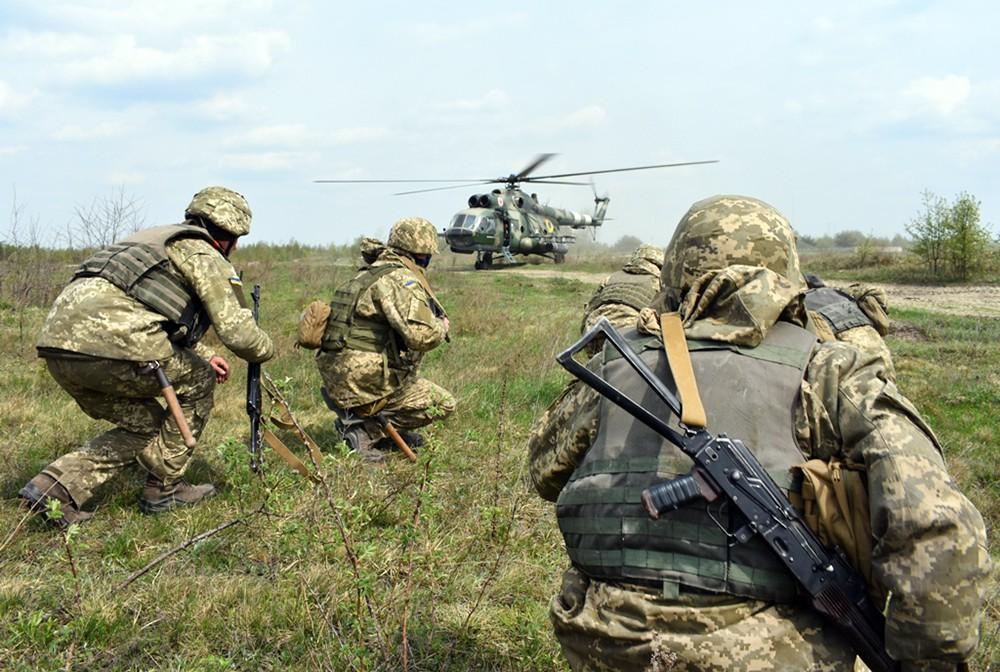 Украинские военные