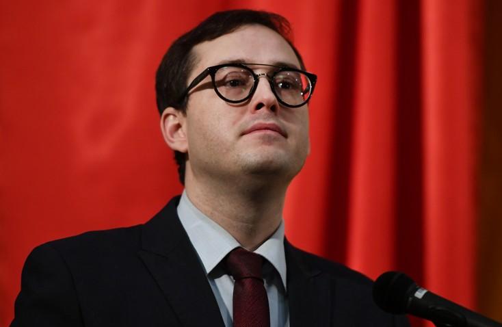 """Председатель партии """"Альянс зеленых"""" Александр Закондырин"""