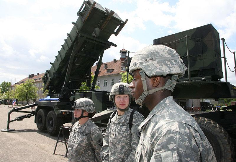 """Батарея американских ракет ПВО """"Пэтриот"""""""