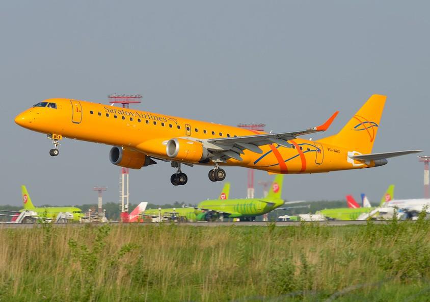"""Самолет Embraer ERJ-195AR """"Саратовских авиалиний"""""""
