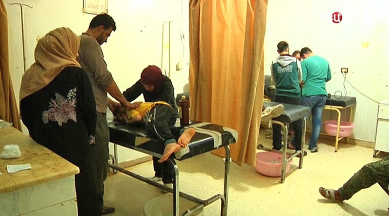 Медпункт в Сирии