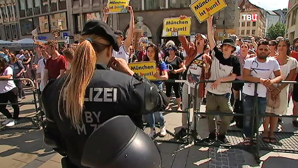 Митинг в Мюнхене