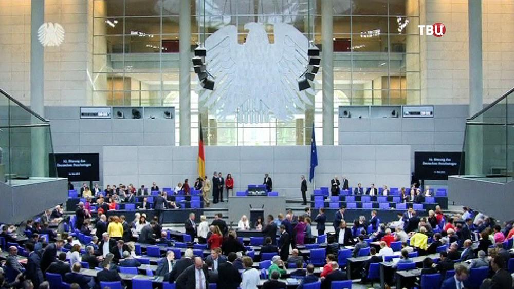 Заседание в Бундестаге