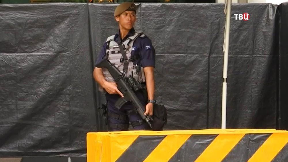 Полиция в Сингапуре
