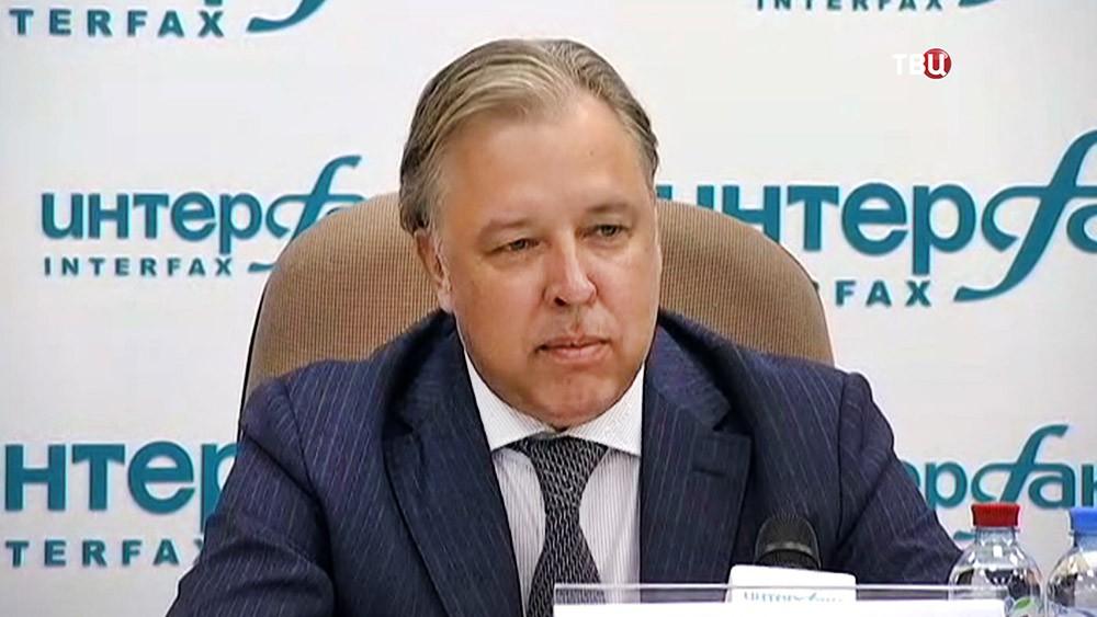 Кандидат в на пост мэра Москвы от партии КПРФ Вадим Кумин