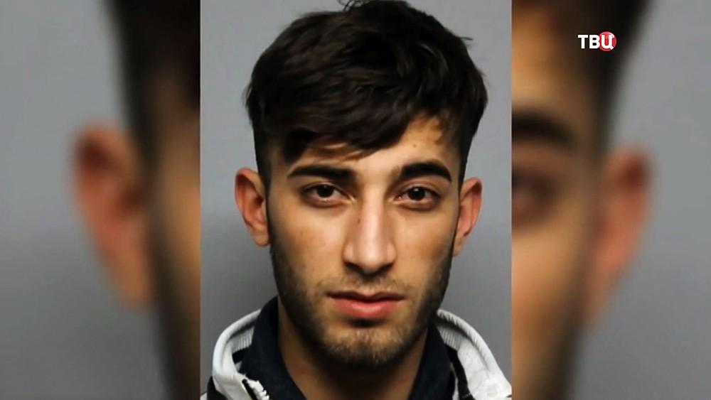 Мигрант из Ирака, обвиняемый в убийстве14-летняей девушки
