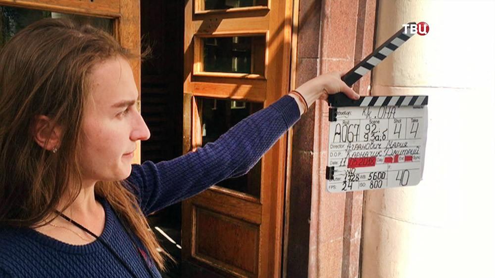 Съемочная площадка фильма
