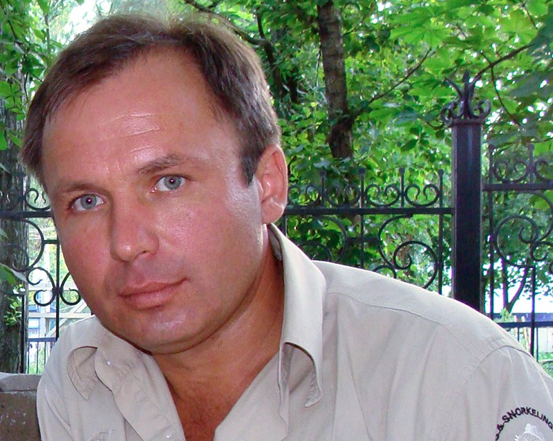 Российский летчик Константин Ярошенко