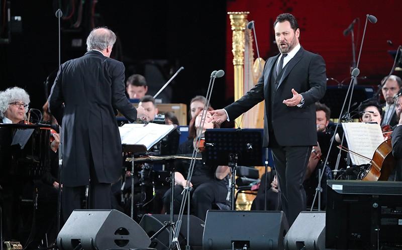 Гала-концерт в честь открытия Чемпионата мира по футболу