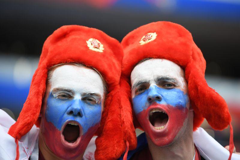 Российские болельщики на ЧМ-2018