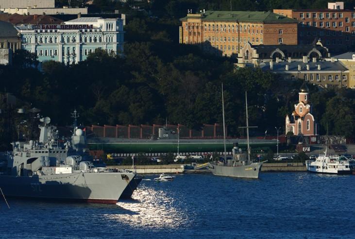 Корабельная набережная во Владивостоке