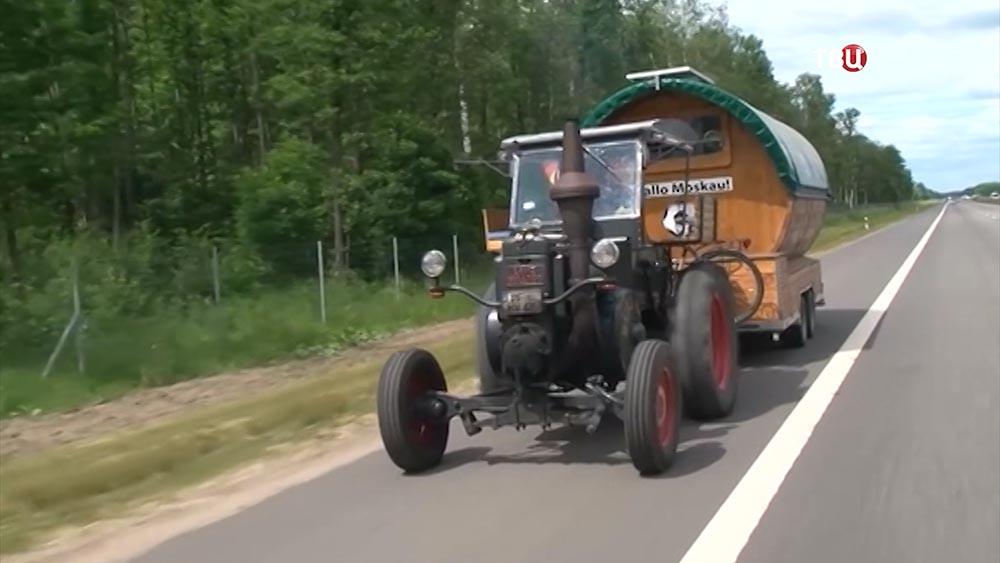 Трактор Lanz Bulldog Губерта Вирта