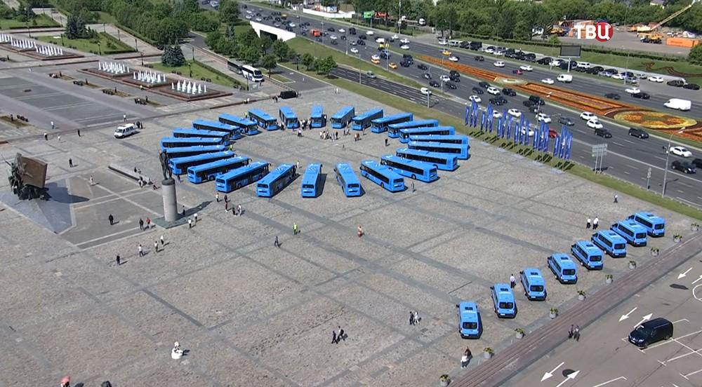 Автобусный парк Москвы
