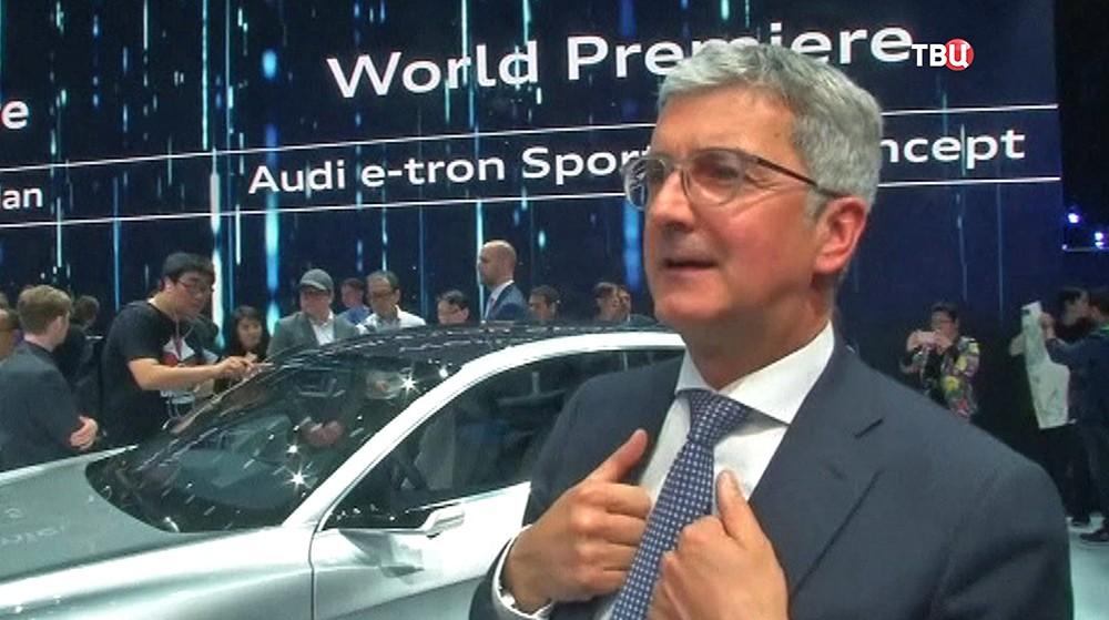 Глава концерна Audi Руперт Штадлер
