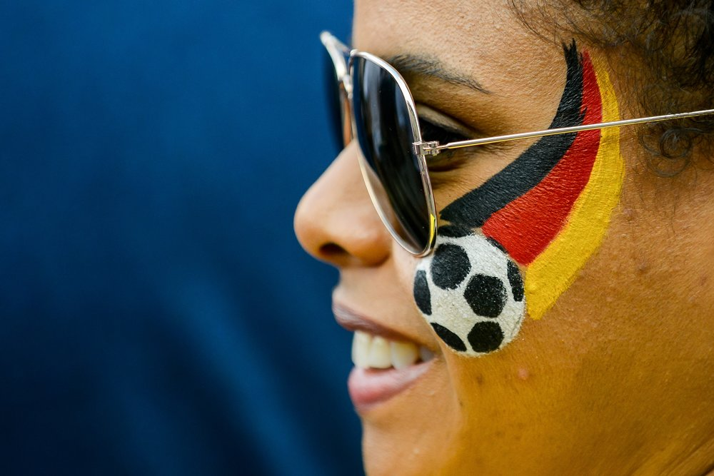 Болельщики Германии
