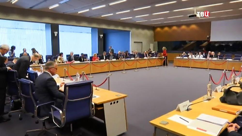 Заседание Министров финансов стран Евросоюза