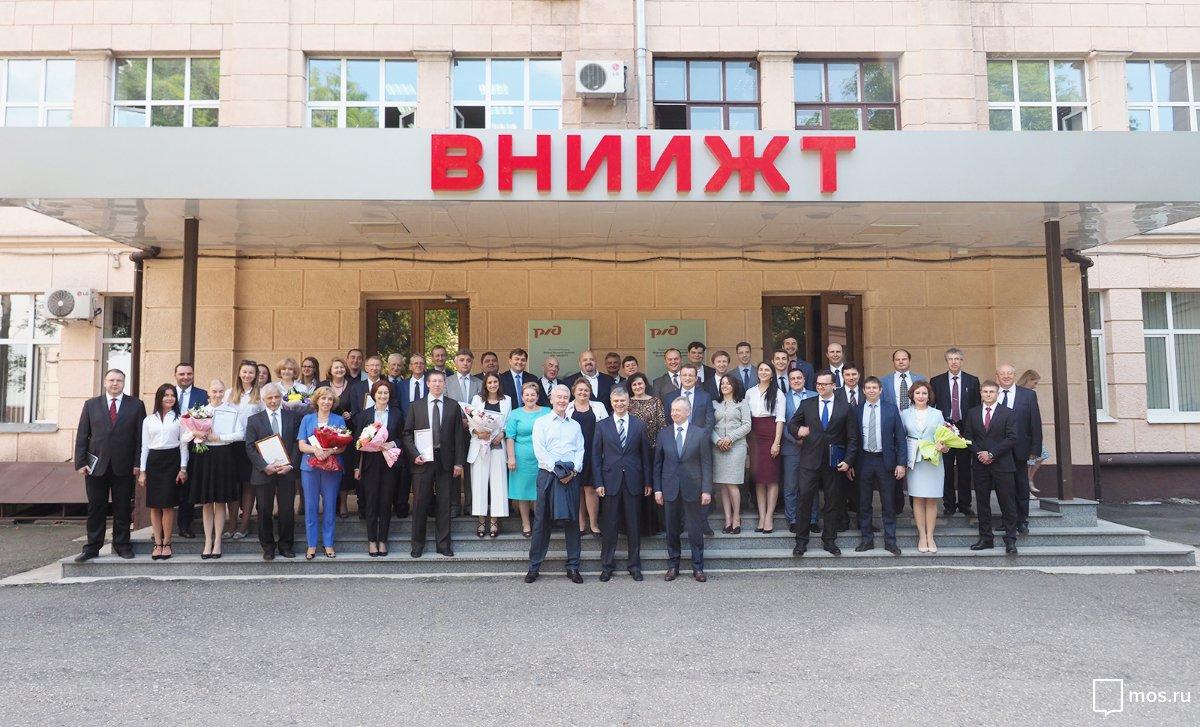 Посещение Всероссийского научно-исследовательского института железнодорожного транспорта