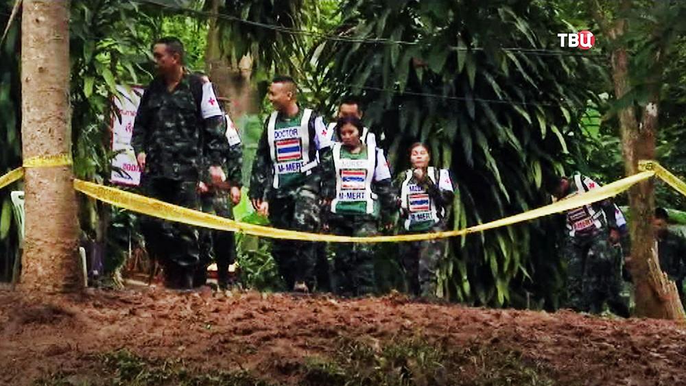 Спасатели в Таиланде