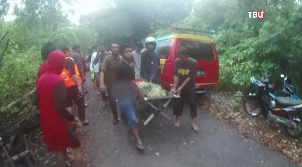 Крушение парома в Индонезии